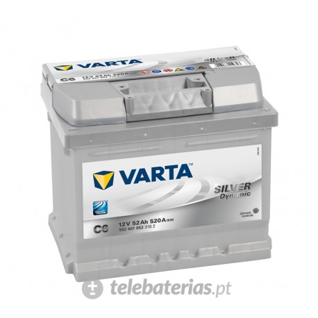 Varta C6 12V 52Ah battery