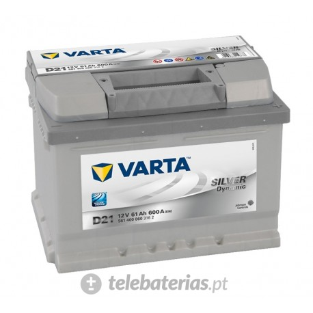 Varta D21 12V 61Ah battery
