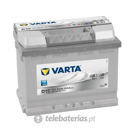 Varta D15 12V 63Ah battery