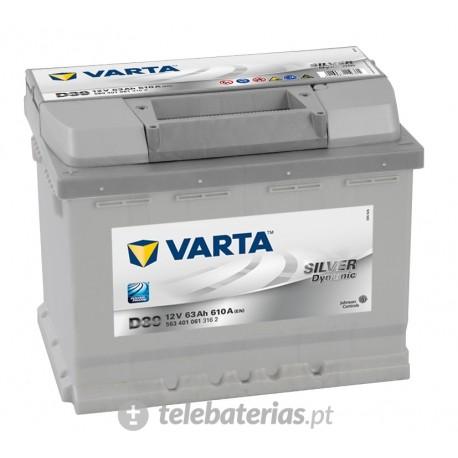 Batería varta d39 12v 63ah