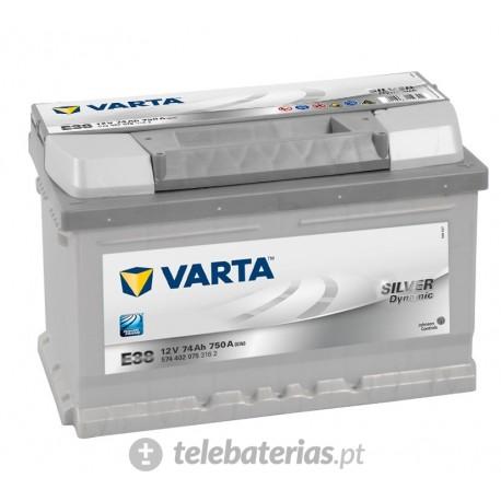 Batterie varta e38 12v 74ah
