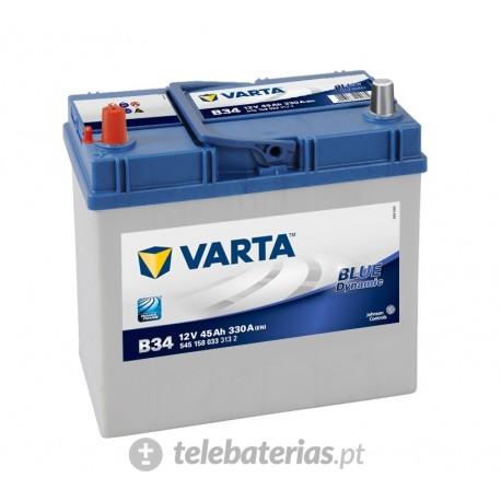 Batería varta b34 12v 45ah