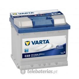 Batería varta c22 12v 52ah