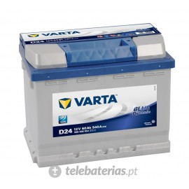 Varta D24 12V 60Ah battery