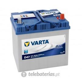 Batería varta d47 12v 60ah