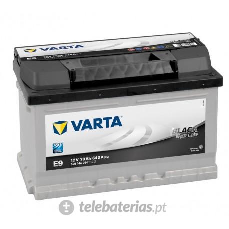 Batería varta e9 12v 70ah
