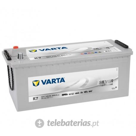 Batería varta k7 12v 145ah