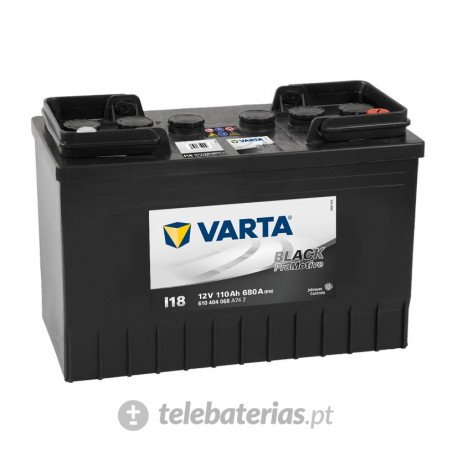 Varta I18 12V 110Ah battery