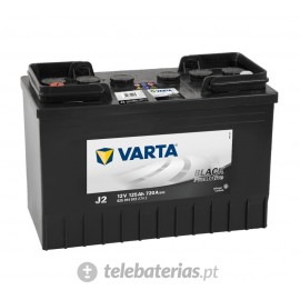 Varta J2 12V 125Ah battery