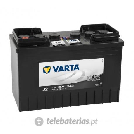 Varta J2 12V 125Ah battery