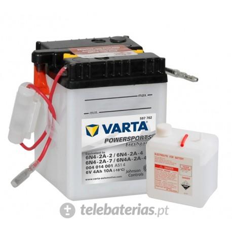 Batería varta 6n4-2a-2 6n4-2a-4 6n4-2a-7 6n4a-2a-4 6v 4ah