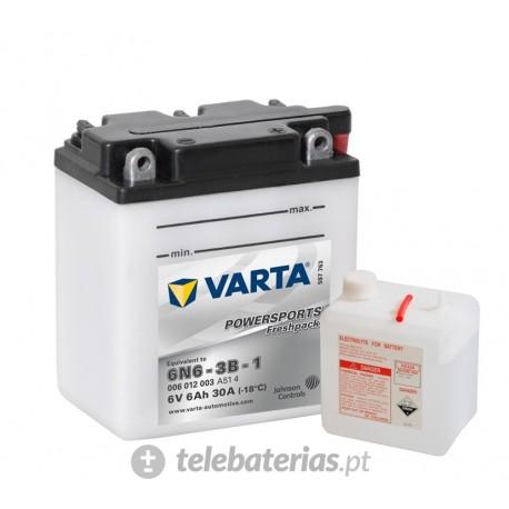 Batería varta 6n6-3b-1 6v 4ah