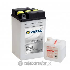 Varta B49-6 6V 4Ah battery