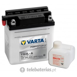 Varta Yb3L-A 12V 3Ah battery
