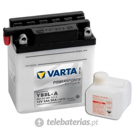 Batería varta yb3l-a 12v 3ah