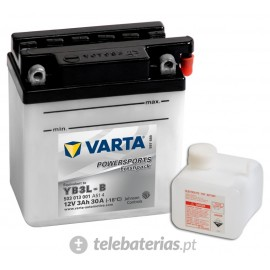 Varta Yb3L-B 12V 3Ah battery