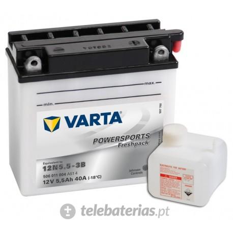 Batería varta 12n5.5-3b 12v 6ah