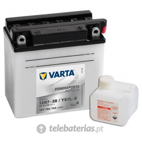 Batería varta 12n7-3b yb7l-b 12v 7ah