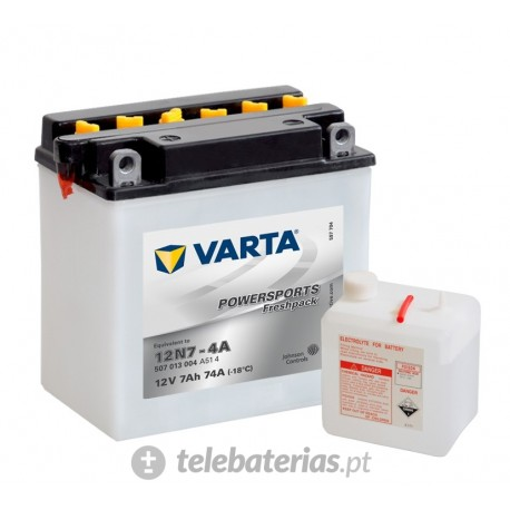 Varta 12N7-4A 12V 7Ah battery