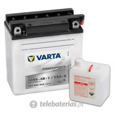Batería varta 12n9-4b-1 yb9-b 12v 9ah