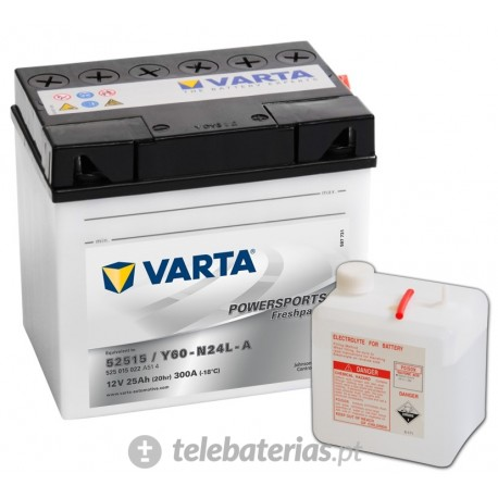 Batería varta 52515 y60-n24l-a 12v 25ah