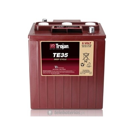 Trojan Te-35 6V 245Ah battery
