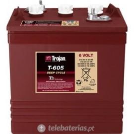 Trojan T-605 6V 210Ah battery
