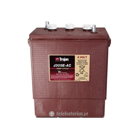 Batterie trojan j-305e-ac 6v 305ah