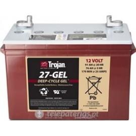 Trojan 27 - Gel 12V 91Ah battery