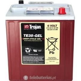 Batterie trojan te35-gel 6v 210ah