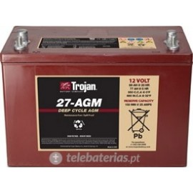 Trojan 27 - Agm 12V 89Ah battery