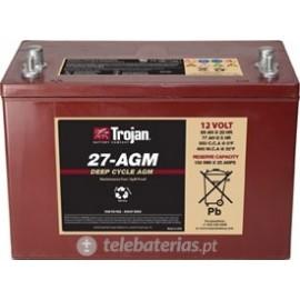 Batterie trojan 27 - agm 12v 89ah