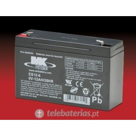 Batterie mk powered es12-6 6v 12ah