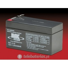 Batería mk powered es1.2-12 12v 1,2ah