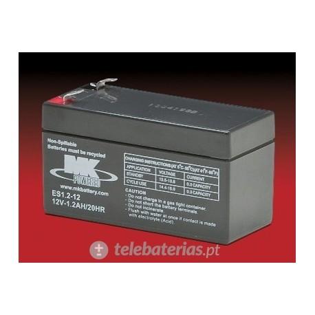 Mk Powered Es1.2-12 12V 1,2Ah battery
