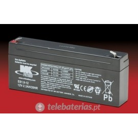 Batterie mk powered es1.9-12 12v 2,3ah