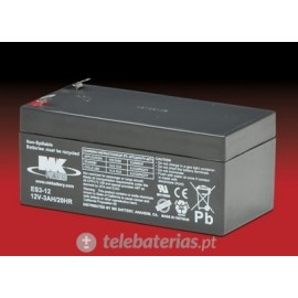 Mk Powered Es3-12 12V 3Ah battery