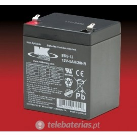 Mk Powered Es5-12 12V 5Ah battery