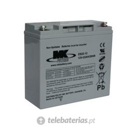 Batería mk powered es22-12 12v 22ah