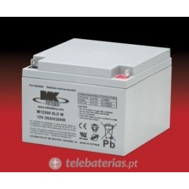 Batería mk powered es26-12 12v 26ah
