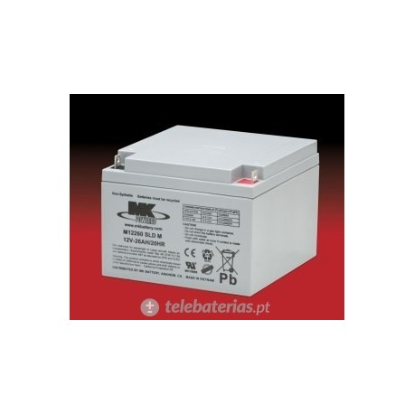 Batterie mk powered es26-12 12v 26ah