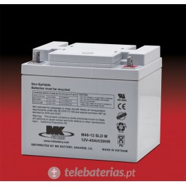Batterie mk powered m40-12 sld m 12v 45ah