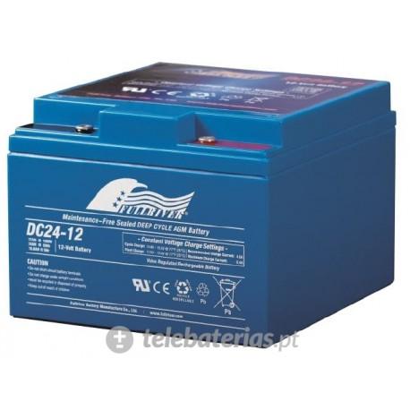 Batería fullriver dc24-12 12v 24ah