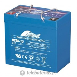 Fullriver Dc55-12 12V 55Ah battery