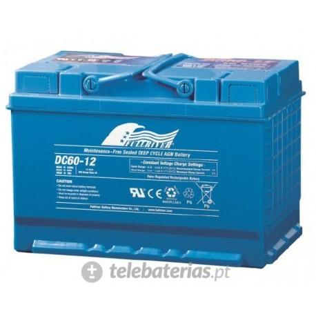 Batterie fullriver dc60-12b 12v 60ah