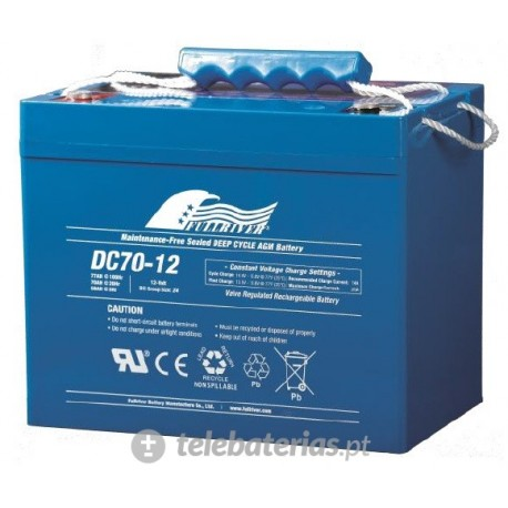 Fullriver Dc70-12 12V 70Ah battery