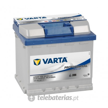 Varta Lfs52 12V 52Ah battery
