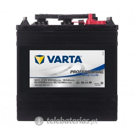 Batería varta gc2_3 6v 232ah