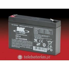 Mk Powered Es7-6 6V 7Ah battery