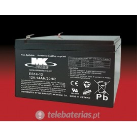 Batería mk powered es14-12 12v 14ah